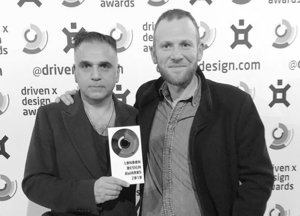 London Design Awards Gold Winner